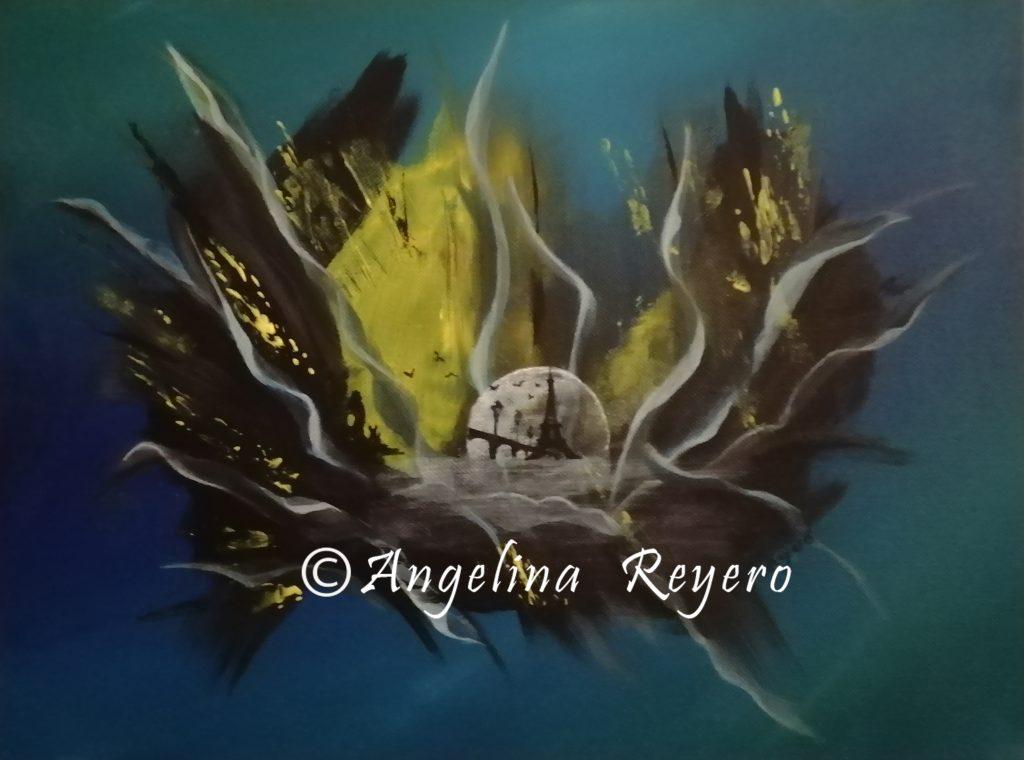 acuadro acilico acrylic painting peinture acrylique