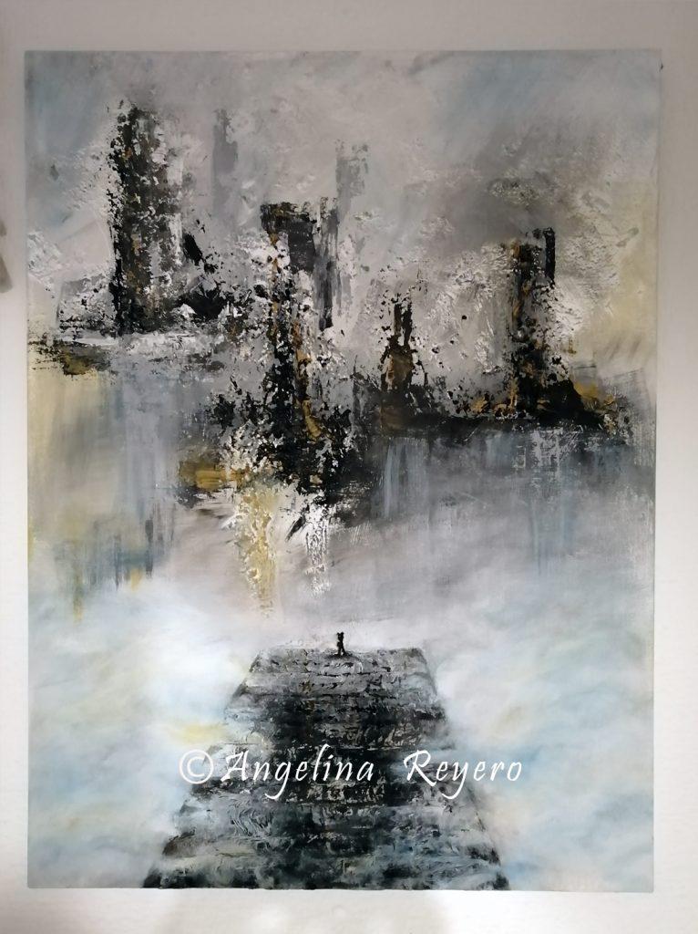 cuadro acrílico peinture